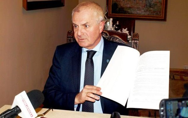 Київ заборонив в їзд меру польського Перемишля