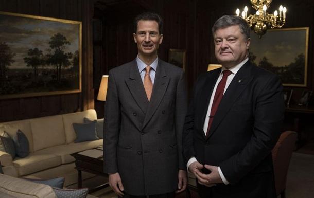 Ліхтенштейн дасть безвіз українцям після ЄС - Порошенко