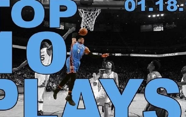 НБА. Найкращі моменти дня