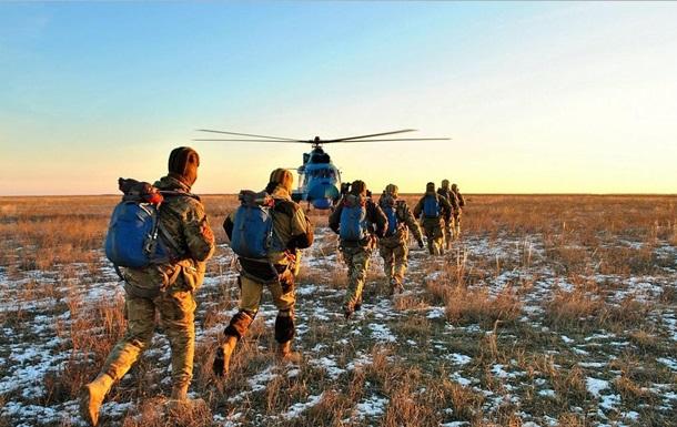 Украина начала масштабные учения в южных областях