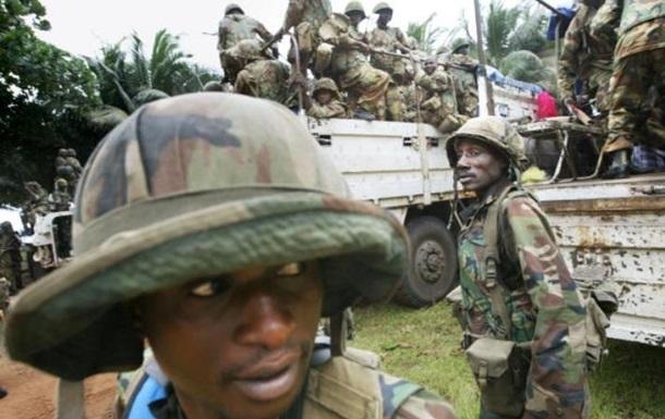 Сенегал вторгся в Гамбію