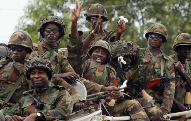 Військова операція в Гамбії призупинена