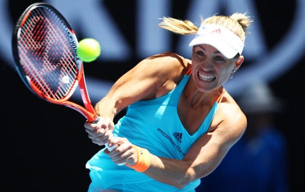 Australian Open (WTA). Кербер і Кузнєцова йдуть далі