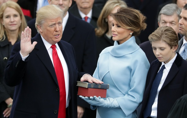 Трамп прийняв присягу президента США