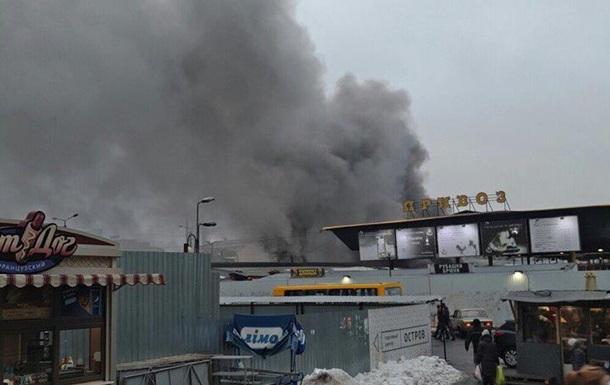 В Одесі горить Привоз