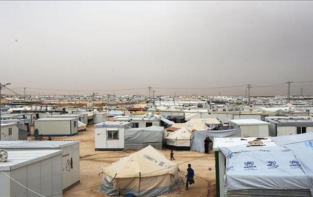 У Сирії стався вибух біля табору біженців