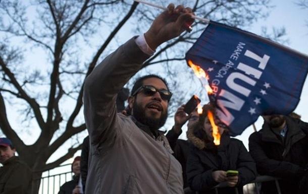 Затриманим на акціях проти Трампа загрожує до 10 років в язниці