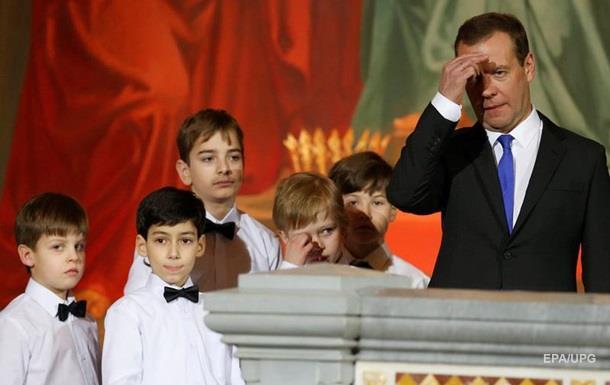Медведєв назвав ілюзіями очікування скасування санкцій