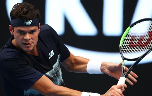 Australian Open. Раонич - третій чвертьфіналіст