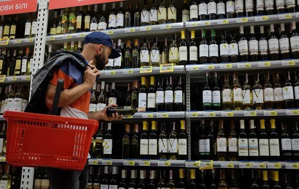 В Украине за год сократилось производство алкоголя