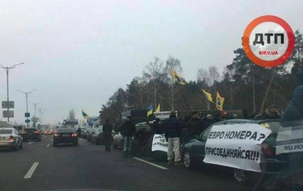 На в їздах до Києва розблокували рух