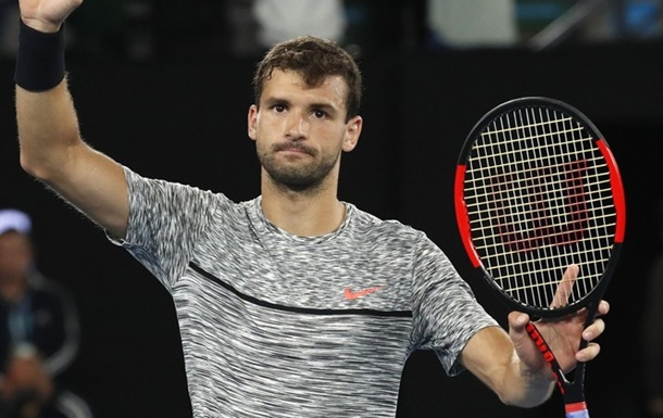 Димитров вийшов у півфінал Australian Open