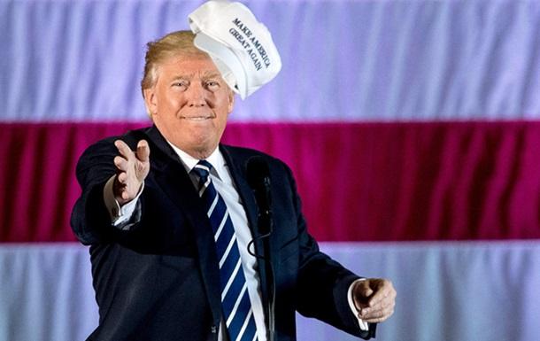 Трамп зареєстрував слоган до виборів 2020 року