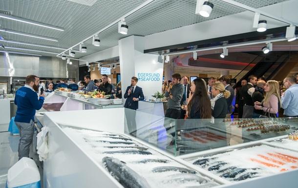 Новий магазин Egersund Seafood в ЦУМі