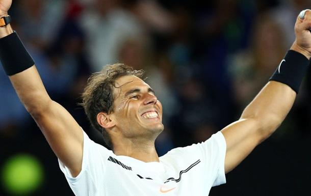 Надаль в полуфинале Australian Open