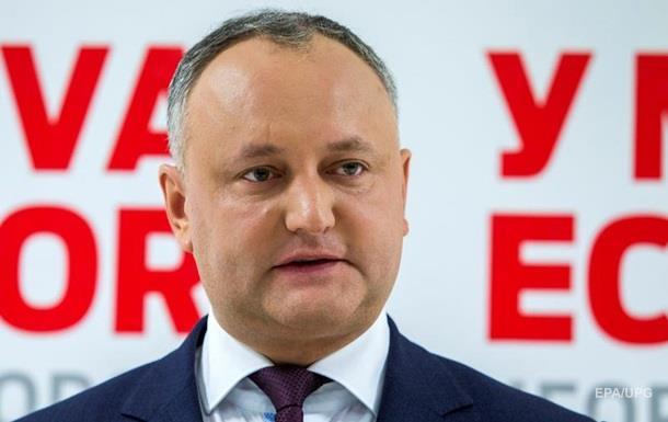 Додон хоче вивести російські війська з Молдови