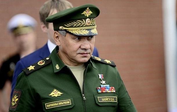 РФ продовжить зміцнювати кордон з Україною - Шойгу