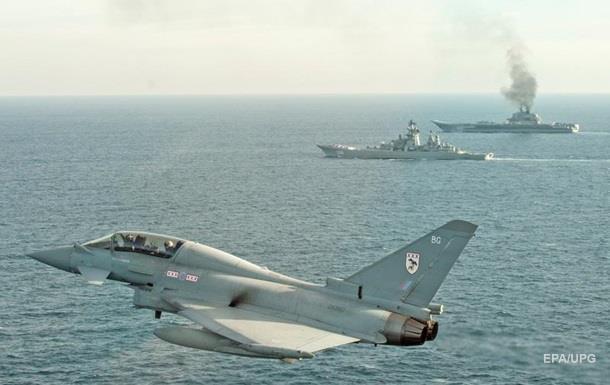 У Британії назвали Адмірала Кузнєцова  кораблем ганьби