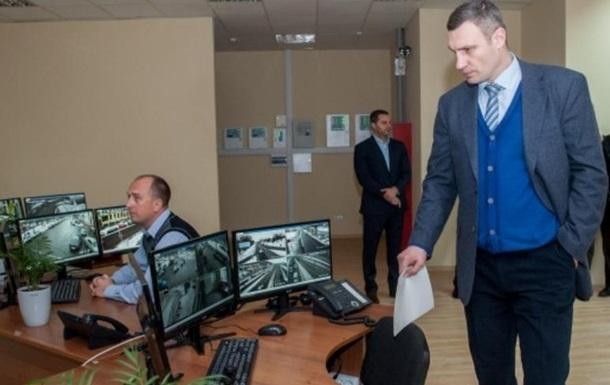 Кличко: В Киеве установят еще четыре тысячи видеокамер