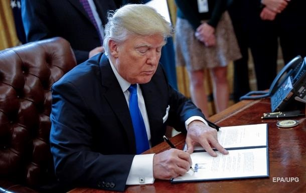 Трамп видав указ про будівництво стіни на кордоні з Мексикою