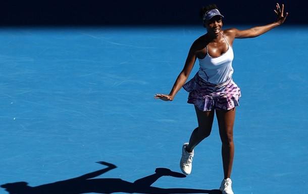 Australian Open. Винус Уильямс – первая финалистка