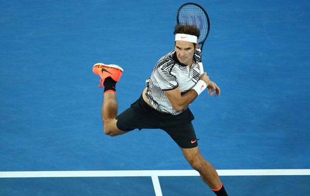Федерер - перший фіналіст Australian Open