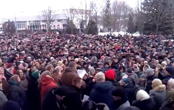 В Винницкой области начался Медицинский майдан