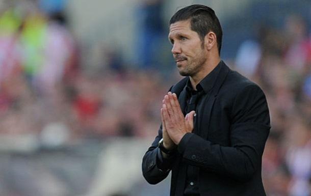 Сімеоне: Ми повинні обігравати Реал і Барселону, щоб бути найкращими