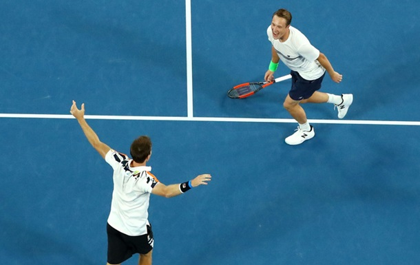 Континен і Пірс - переможці парного Australian Open