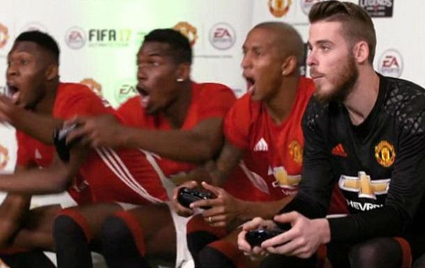 Банда  Погба обіграла  банду  Руні у FIFA 17