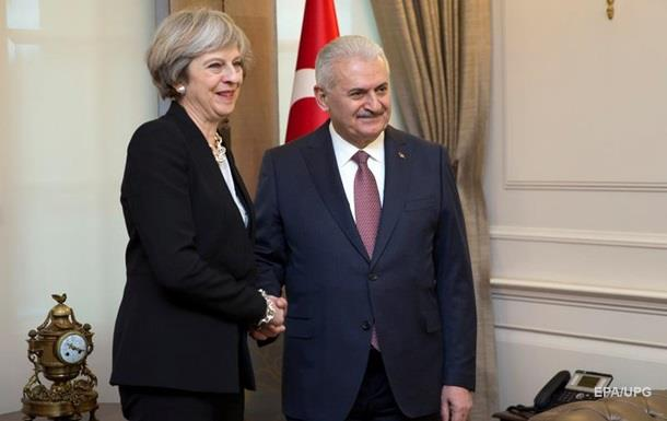 Туреччина розробить з Британією новий винищувач