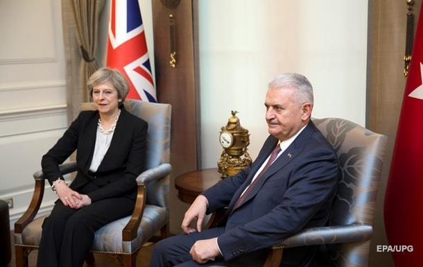 Великобританія і Туреччина мають намір підписати угоду про вільну торгівлю