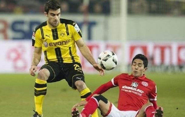 Бундесліга. Боруссія грає внічию з Майнцем, Фрайбург сильніший від Герти