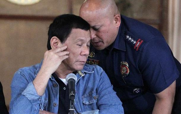 На Филиппинах расформируют отряды наркополиции