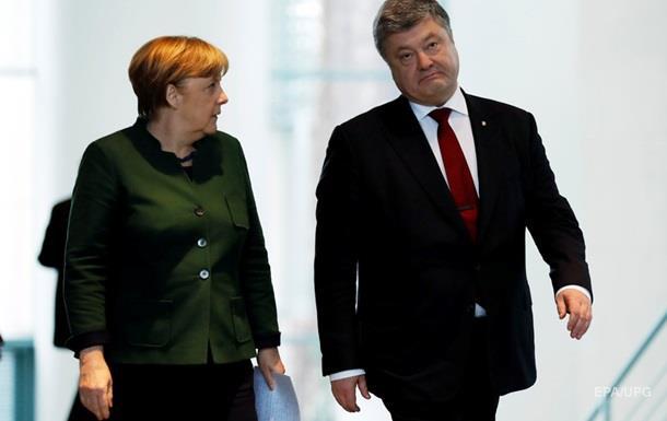 Порошенко рассказал Меркель о бое под Авдеевкой