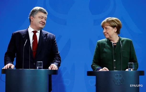 Меркель позитивно оцінила реформи в Україні