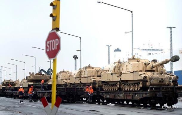 США перекидають танки з Польщі до Балтії