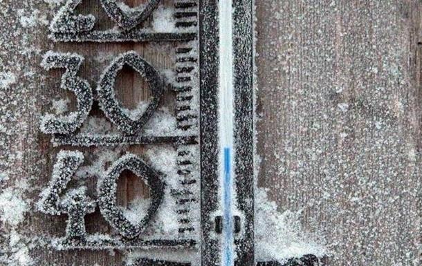 Морози в Україні. У трьох областях закриваються школи