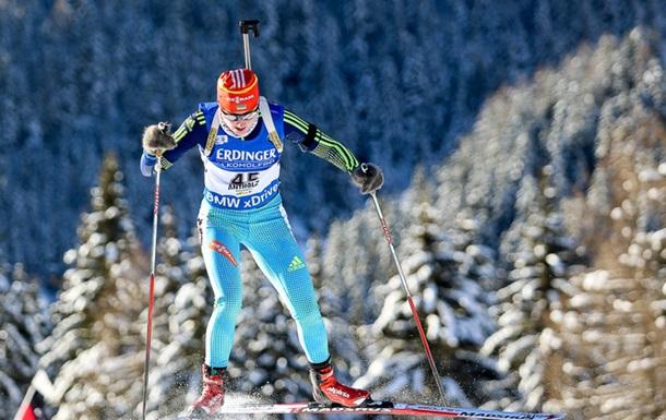 Суд призупинив дискваліфікацію української біатлоністки