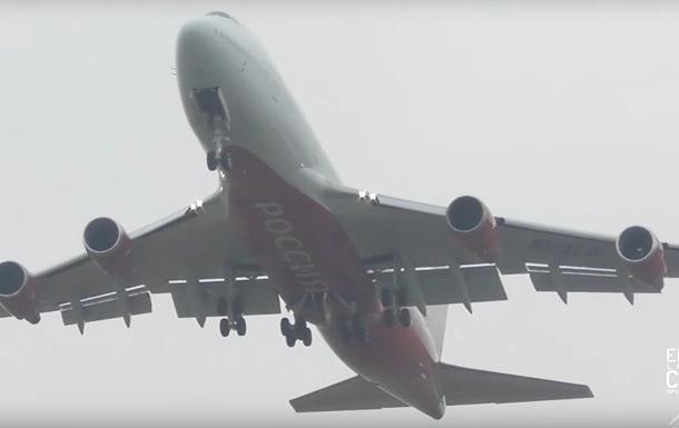 В Англії літак РФ екстрено сів після зльоту