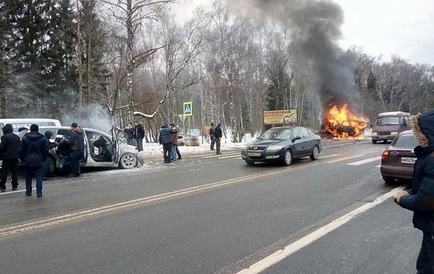 У ДТП під Москвою загинули дев ятеро людей