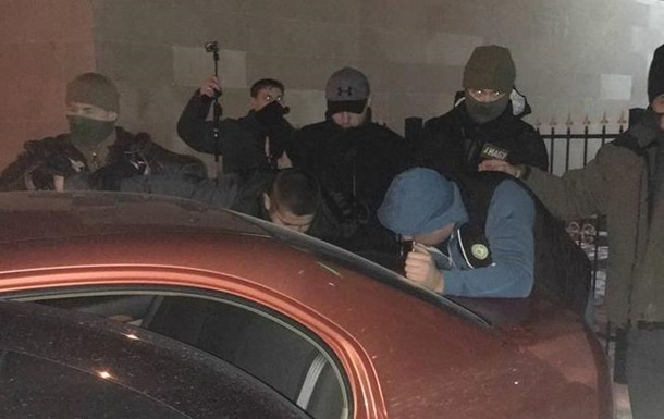 НАБУ показало затримання судді Солом янського суду