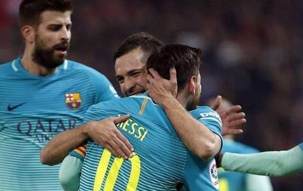 Барселона обіграла Атлетіко в першому півфіналі Кубка Іспанії