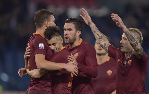 Кубок Італії: Рома стає останнім півфіналістом