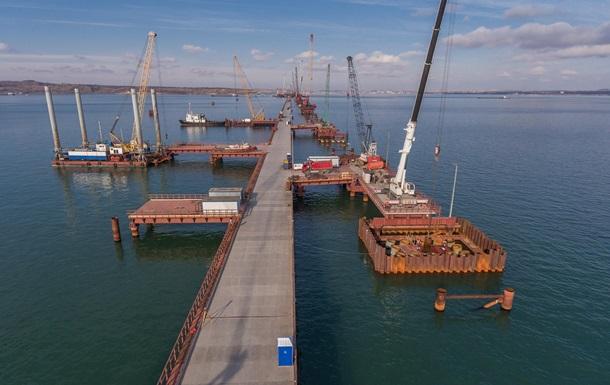 Керченський міст: Почалося будівництво прольотів