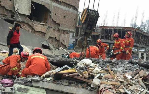 У Китаї обрушилися житлові будинки, 9 загиблих