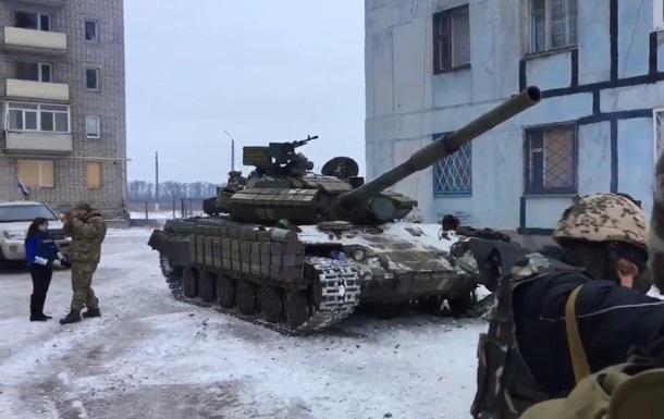 ОБСЄ підтвердила, що танки розташовані в Авдіївці