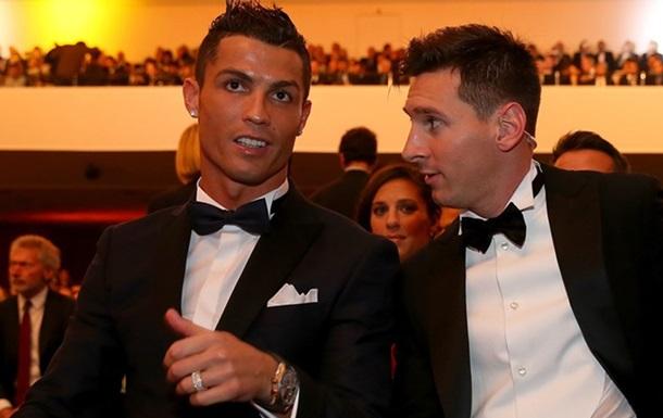 Роналду і Мессі стали найбільш високооплачуваними спортсменами 2016 року