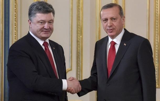 Президент Туреччини відвідає Україну в найближчі місяці