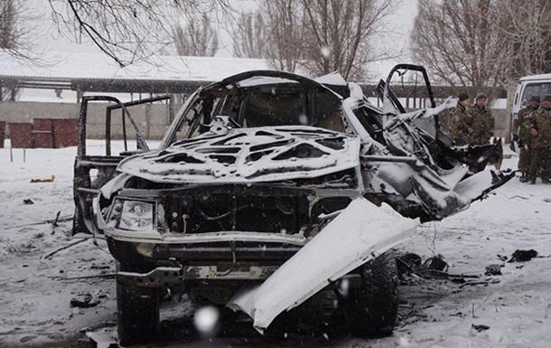 В ЛНР взрыв авто в Луганске назвали терактом